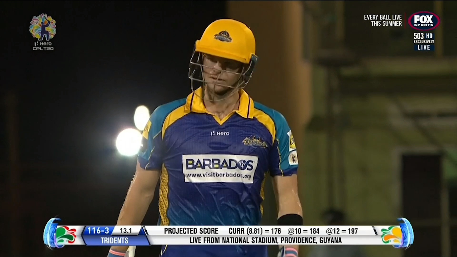 Smith walks in Caribbean Premier League