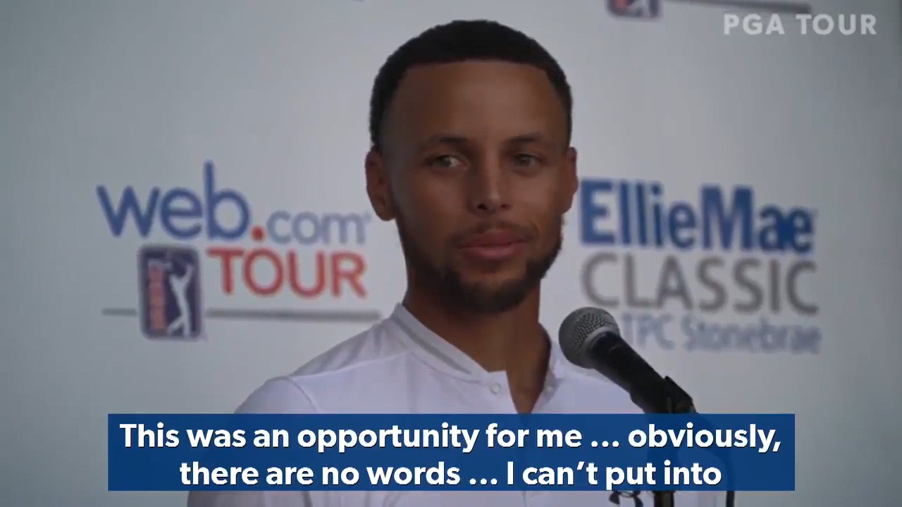 Stephen Curry's incredible gesture