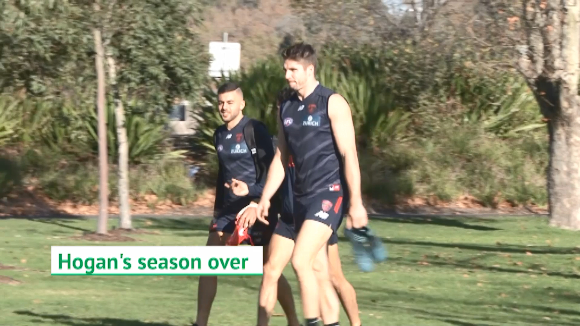 Demons lose star forward for AFL season