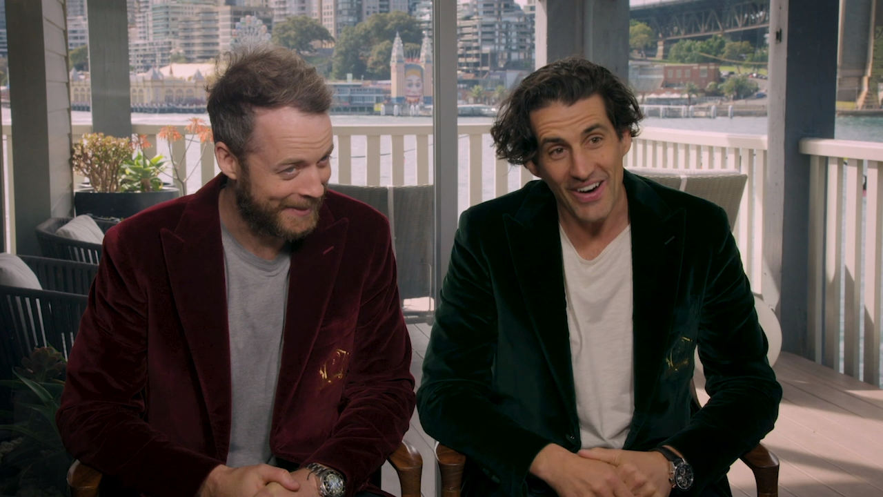 Hamish and Andy hold 'The People's Junket'