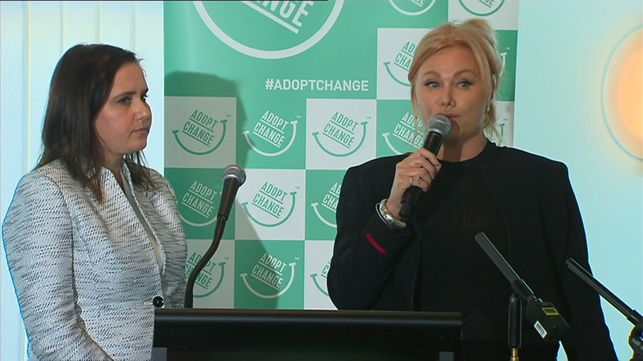 Deborra-lee Furness launches group to help tackle child adoption