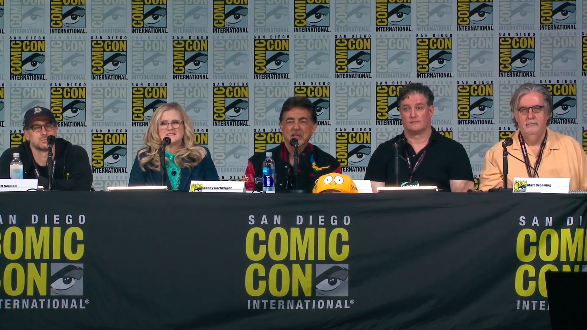 'The Simpsons' cast head a Q&A at Comic-Con 2017