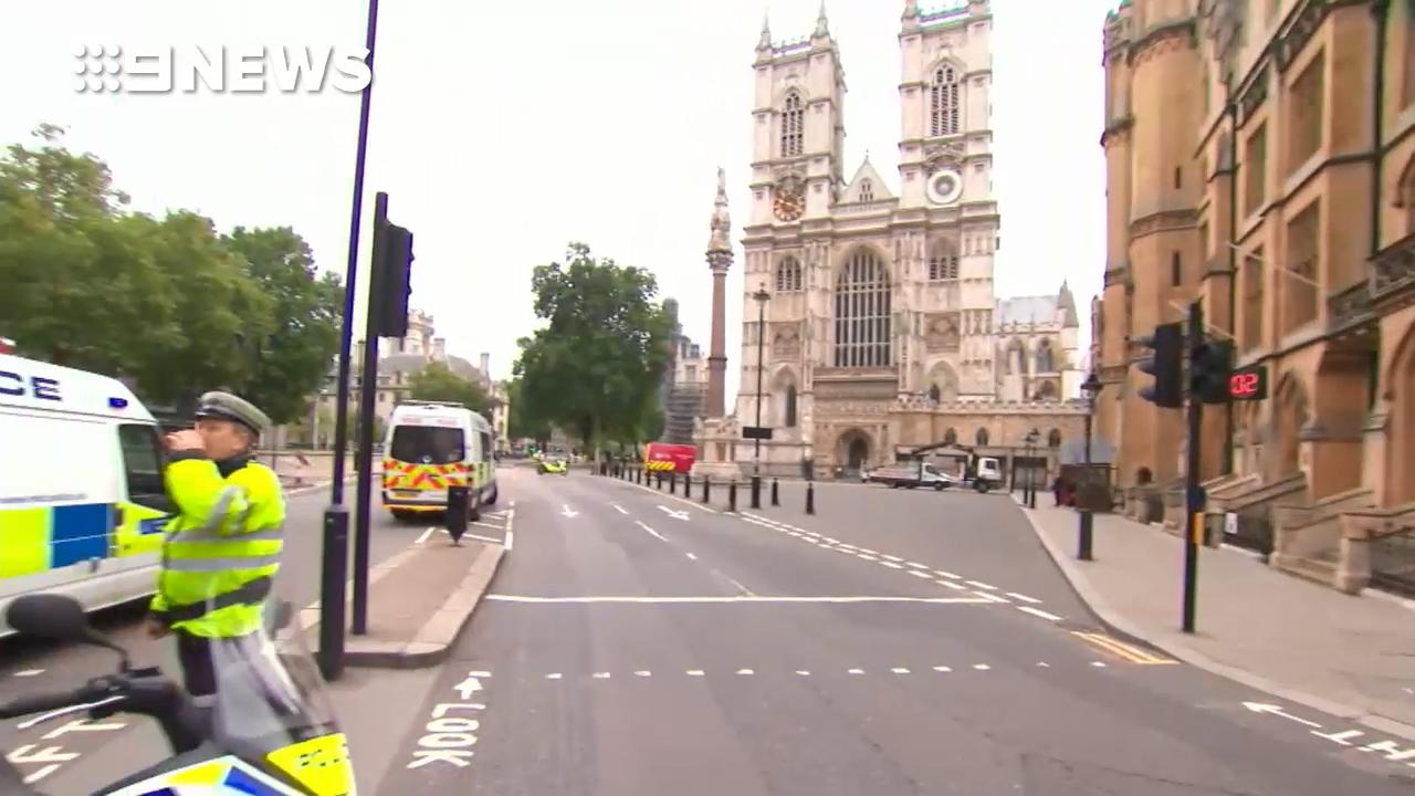 Anti-terror probe into Westminster crash
