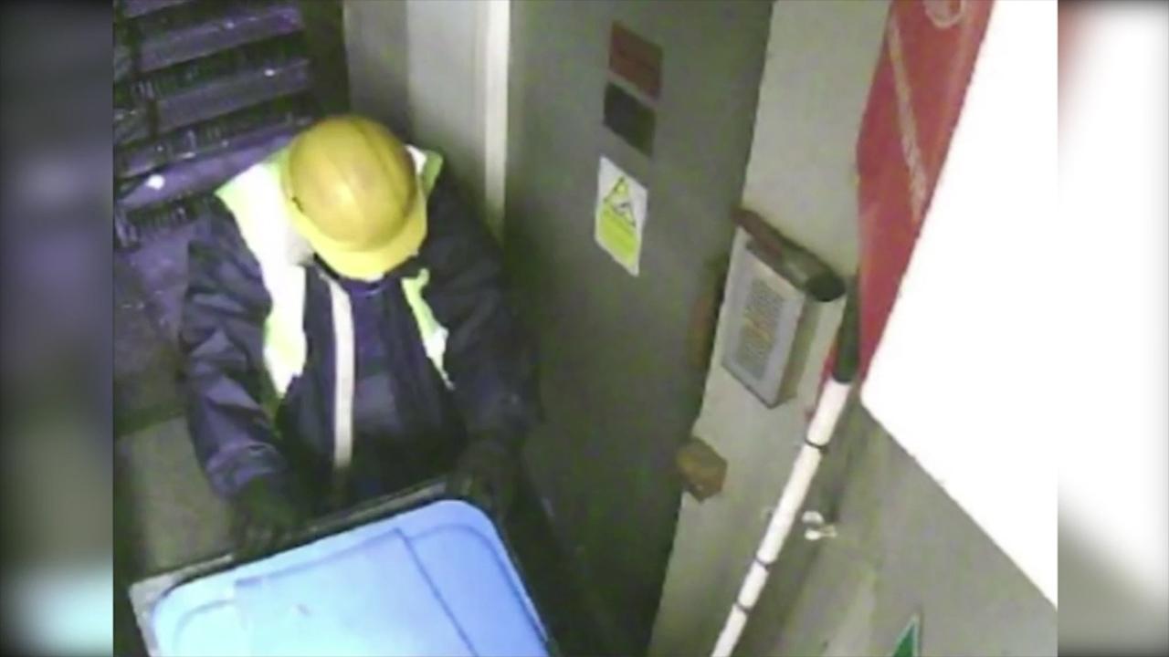 CCTV captures Hatton Garden thieves during heist