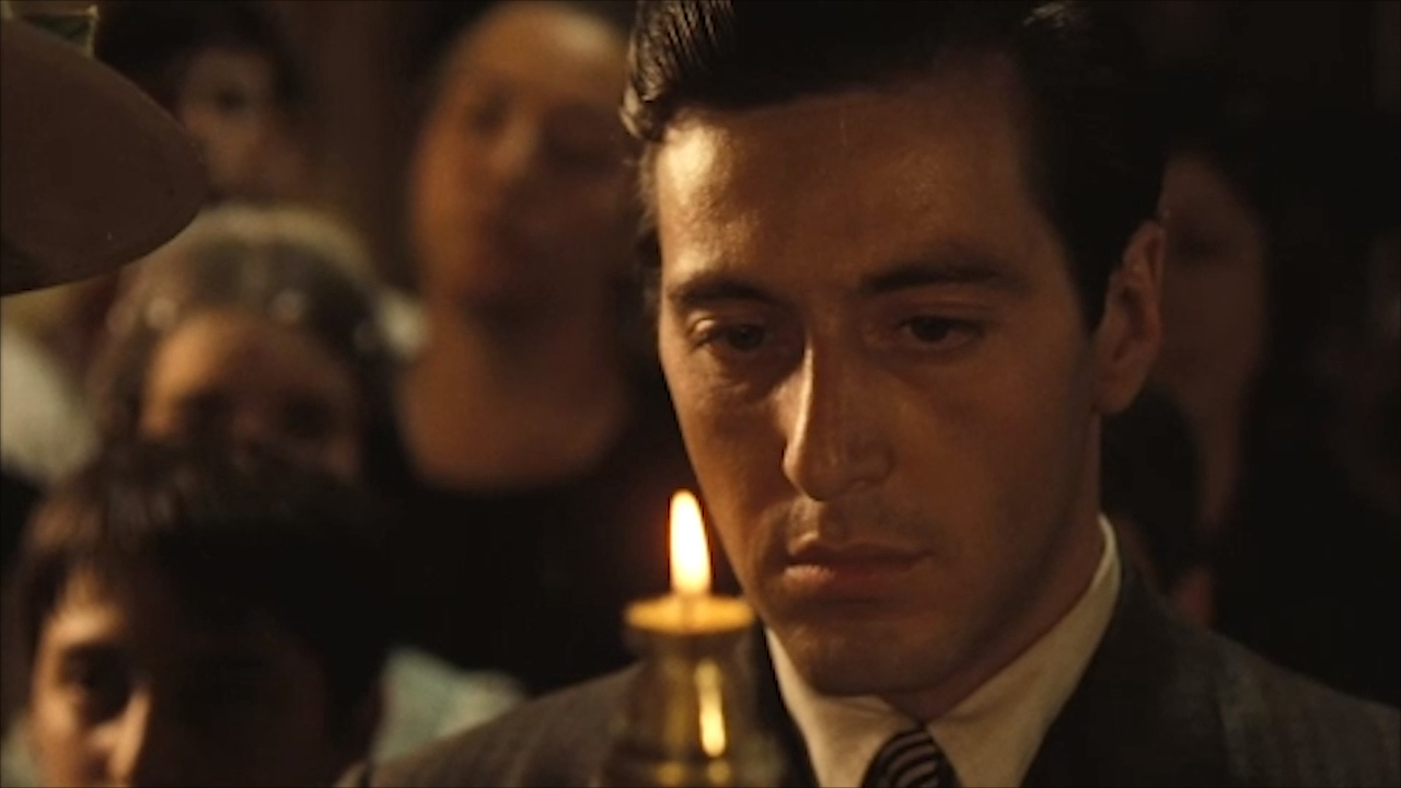Watch the digitally remastered trailer for 'The Godfather'