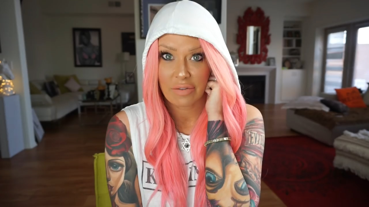 Former adult film star Jenna Jameson opens up about her addiction battles