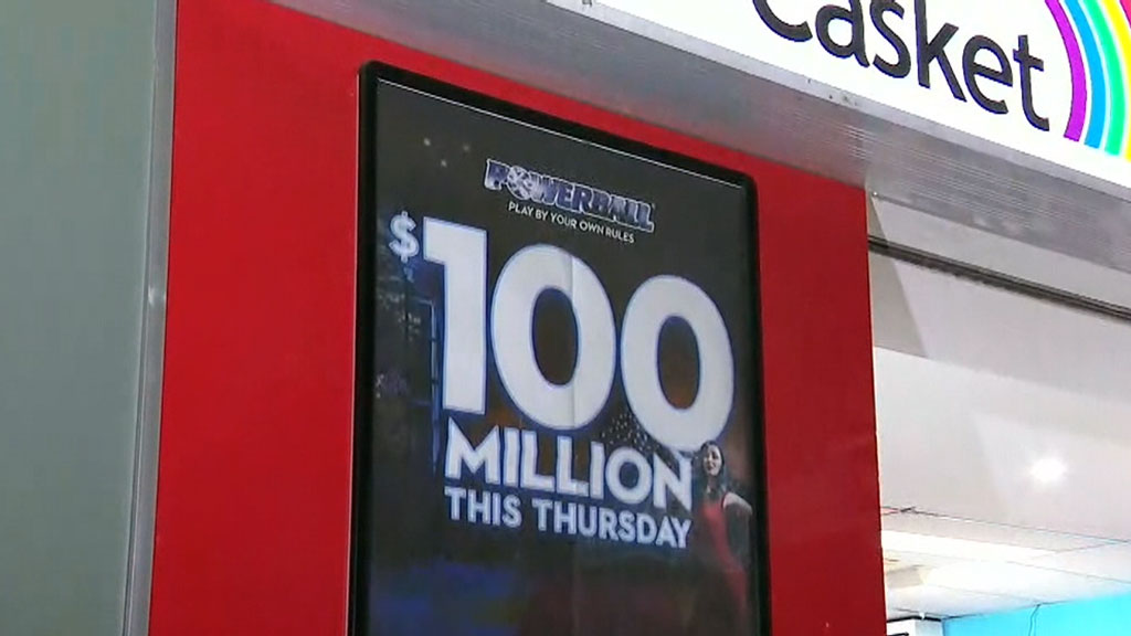 Biggest powerball prize in Australian history