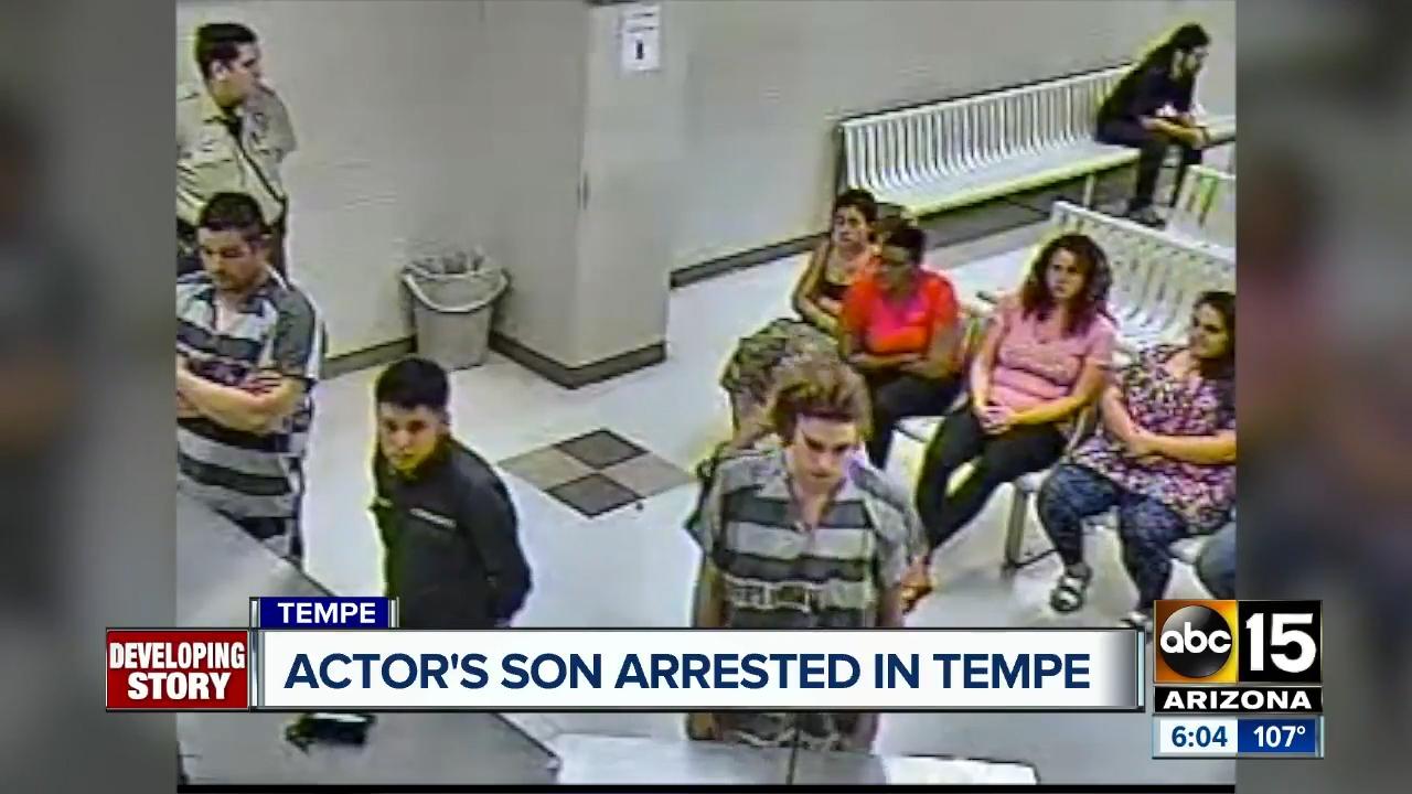 Jean-Claude Van Damme's son arrested in Arizona in assault case