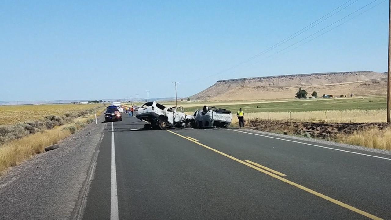 Seven family members killed in Oregan crash