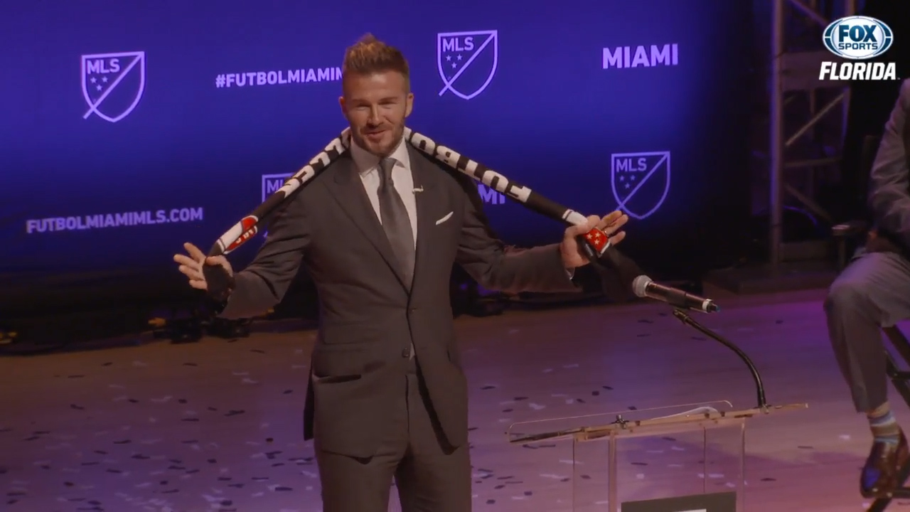 David Beckham awarded MLS expansion franchise in Miami