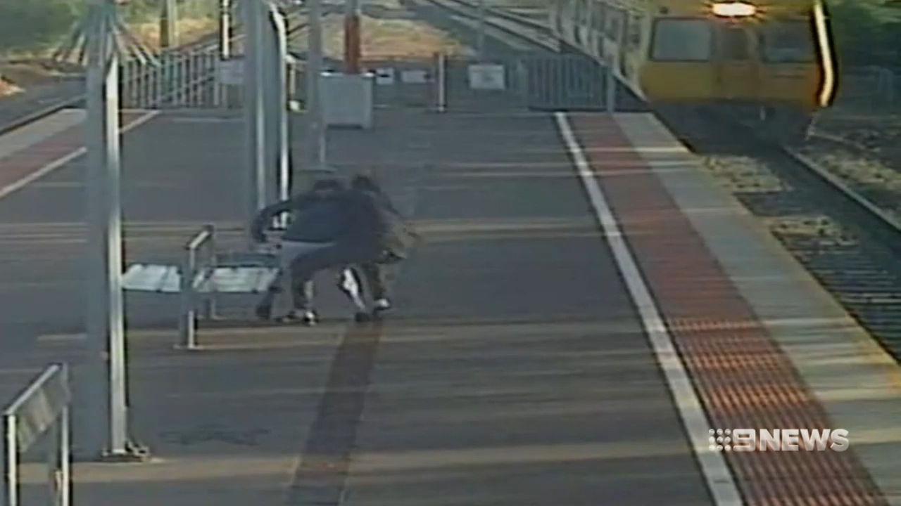 Adelaide man tried to push teenage girlfriend in front of train