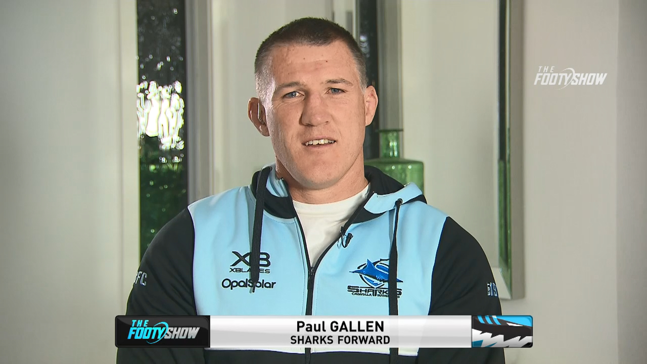 Gallen weighs-in on decision to play on