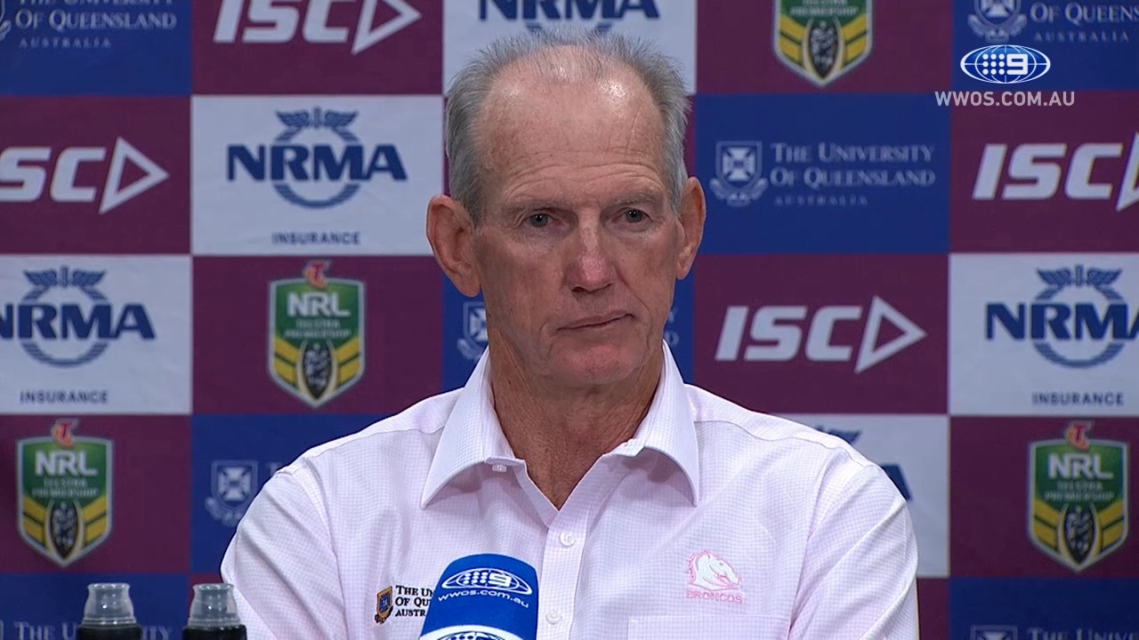 NRL Press Conference: Brisbane Broncos - Round 23