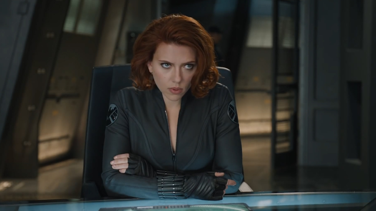 Scarlett Johansson is fierce in the 2012 'The Avengers' movie