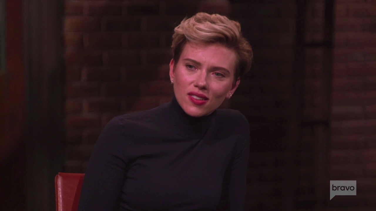 Scarlett Johansson reveals she grew up on welfare