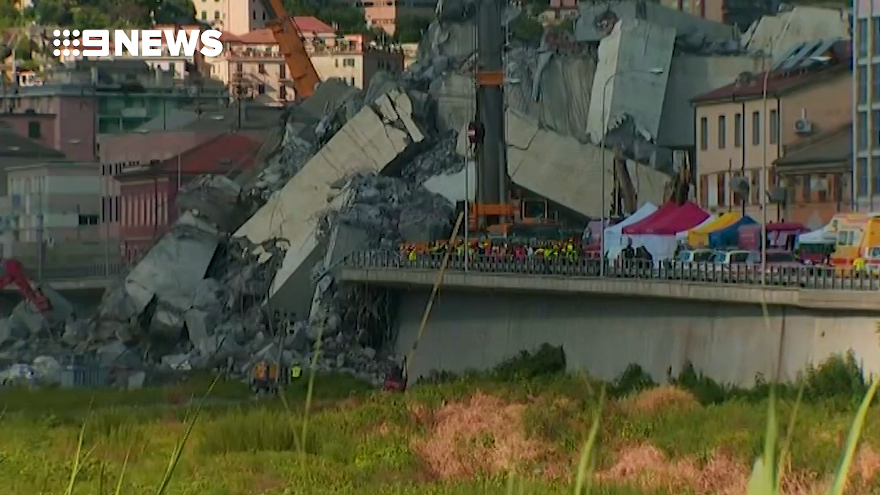 People demand for justice over Italy bridge collapse