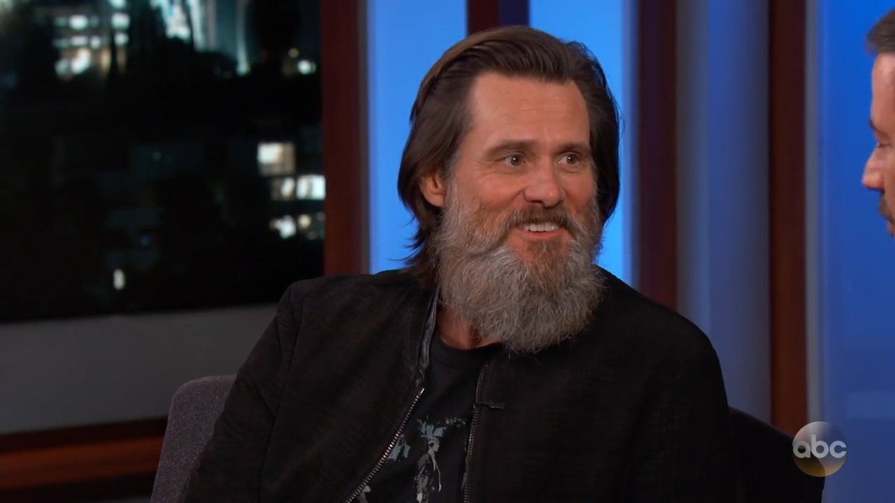 Jim Carrey reveals inspiration behind his artwork