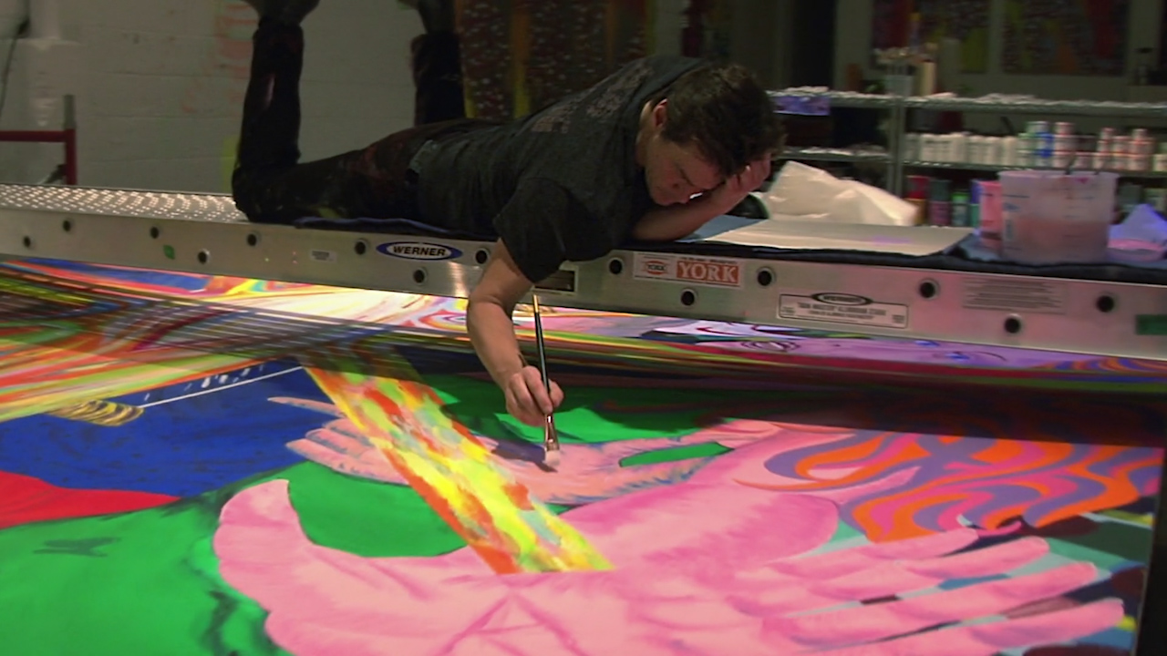 The sad reason Jim Carrey turns to painting