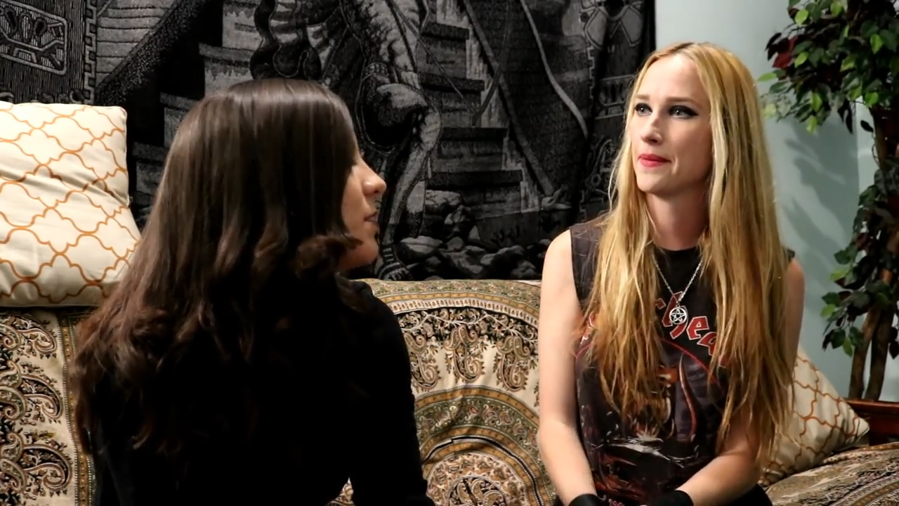 Interview with Jill Janus from Huntress