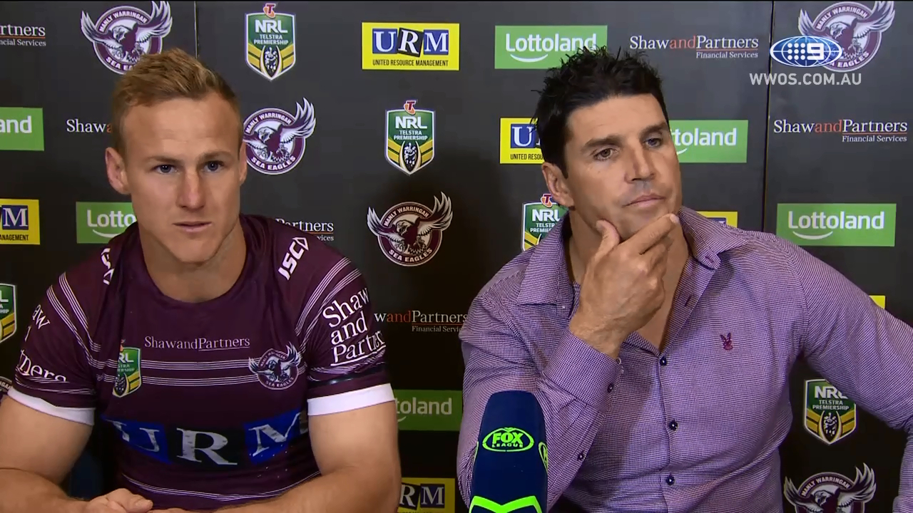 NRL Press Conference: Manly Sea Eagles - Round 23