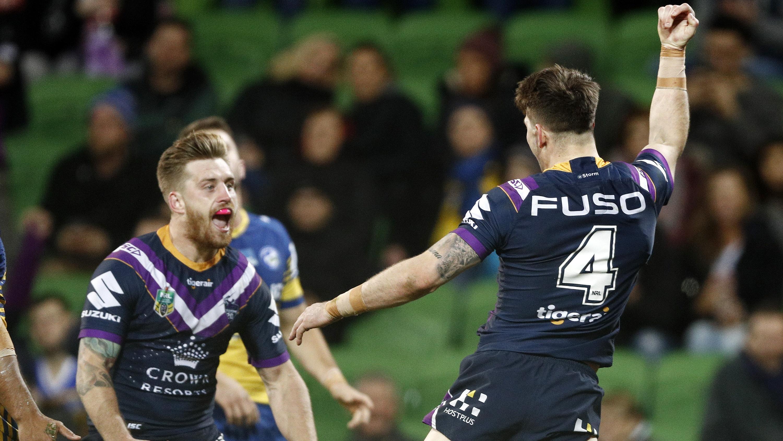 NRL Highlights: Melbourne Storm v Parramatta Eels - Round 23