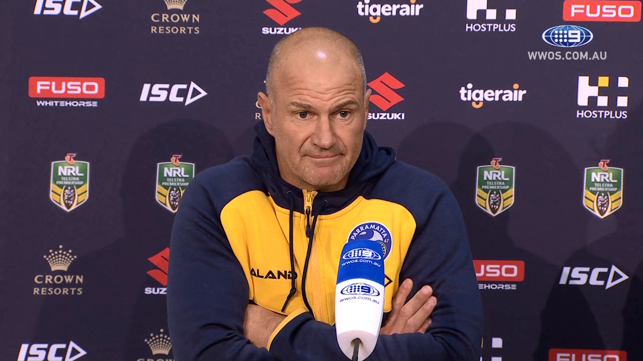 NRL Press Conference: Parramatta Eels - Round 23