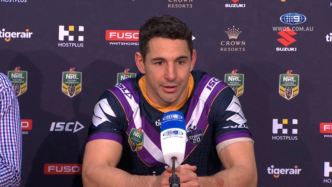 NRL Press Conference: Melbourne Storm - Round 23
