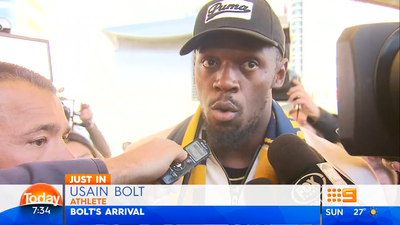 Bolt wants to be in Australia 'forever'