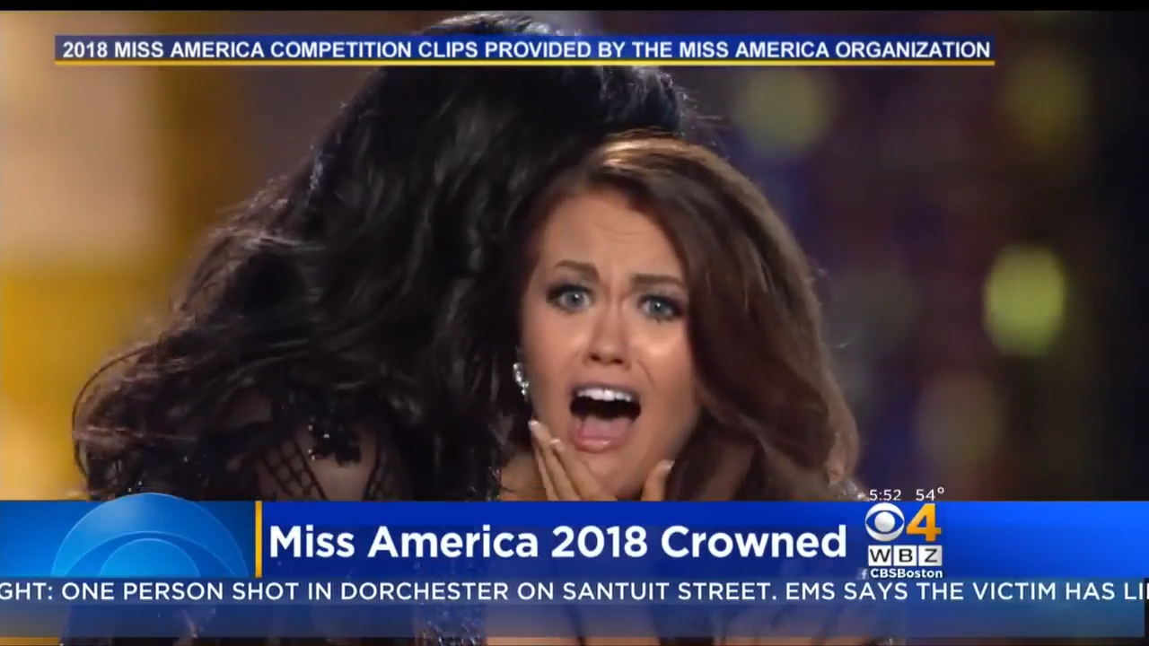 Miss America reveals all in letter