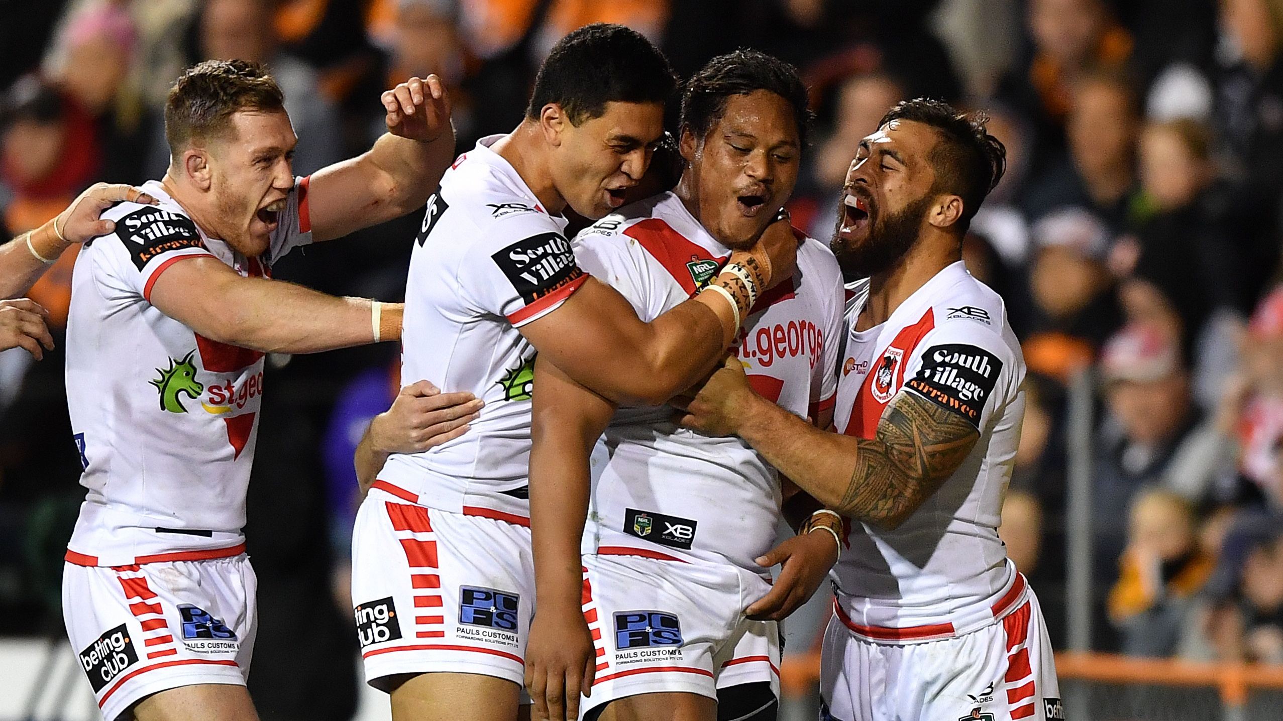 NRL Highlights: Wests Tigers v St George Illawarra Dragons – Round 23