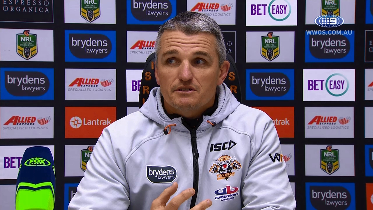 NRL Press Conference: Wests Tigers – Round 23