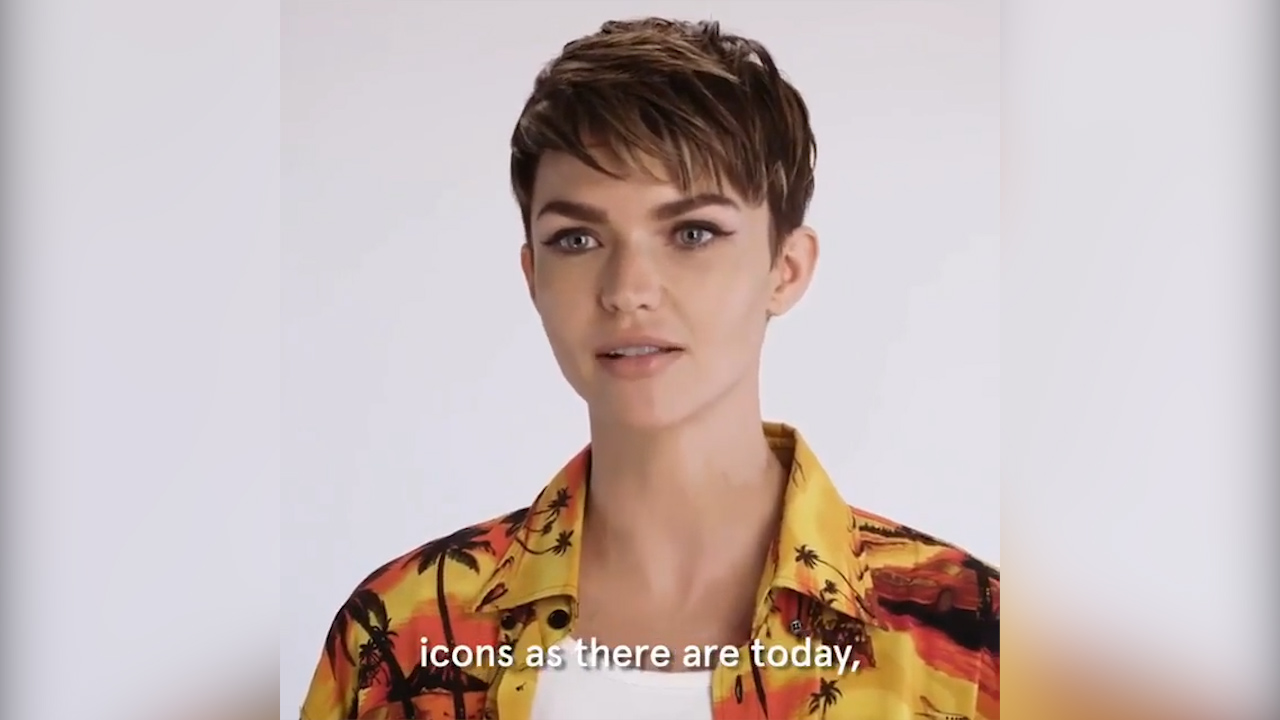 Ruby Rose reveals her first girl crush