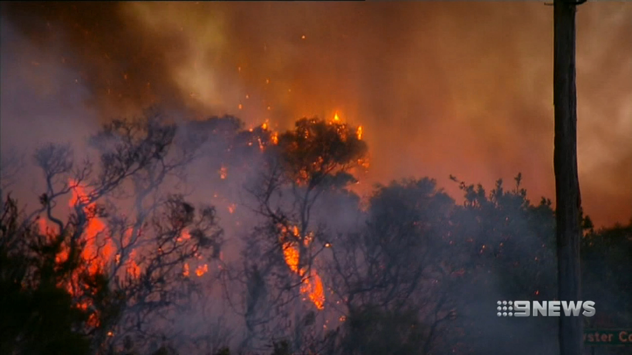 Fire emergency warning in place for part of NSW