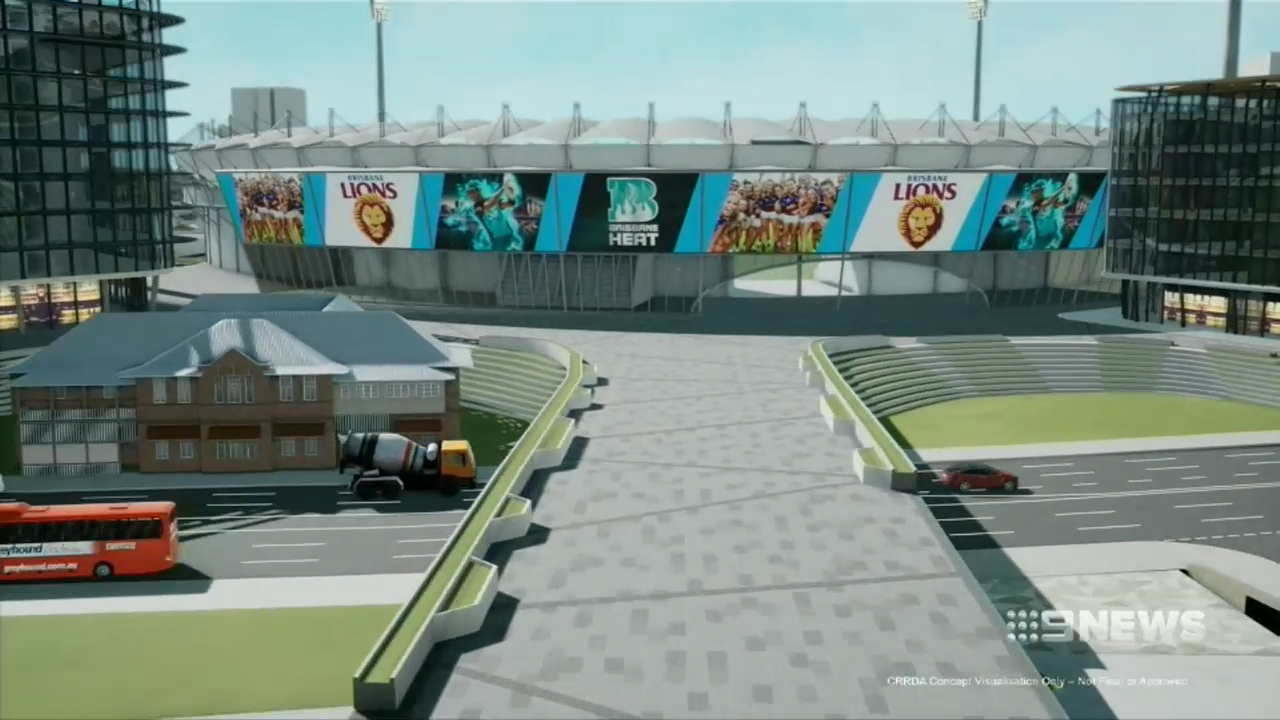 The Gabba to receive a makeover