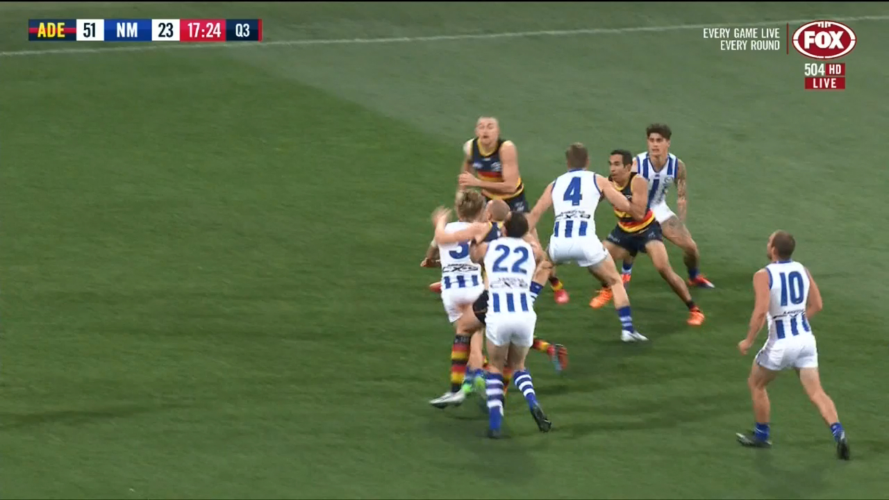 Greenwood kicks Crows ahead