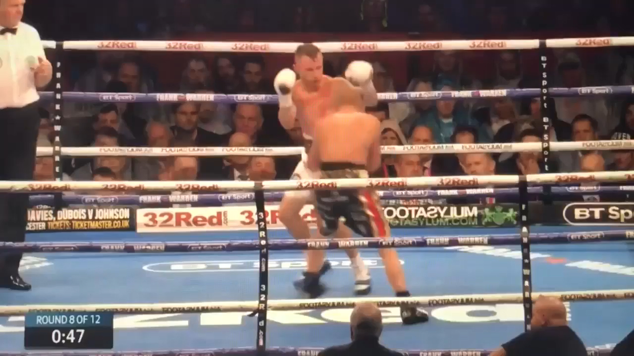Devastating body shot ends Jackson's hopes
