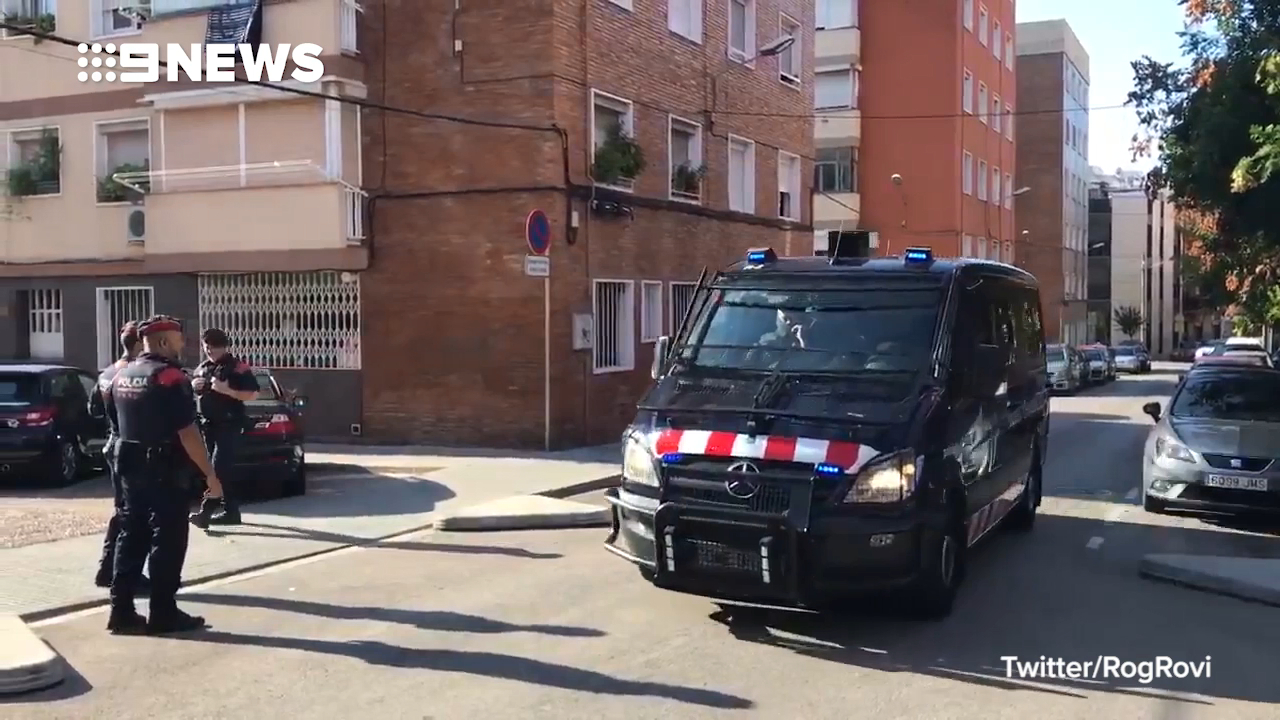 Barcelona police shoot knife attacker dead
