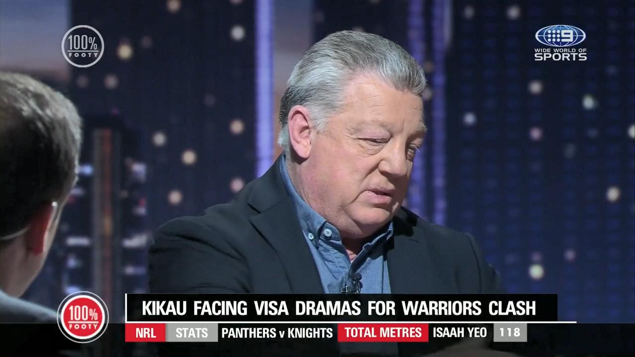Gus explains Kikau visa drama