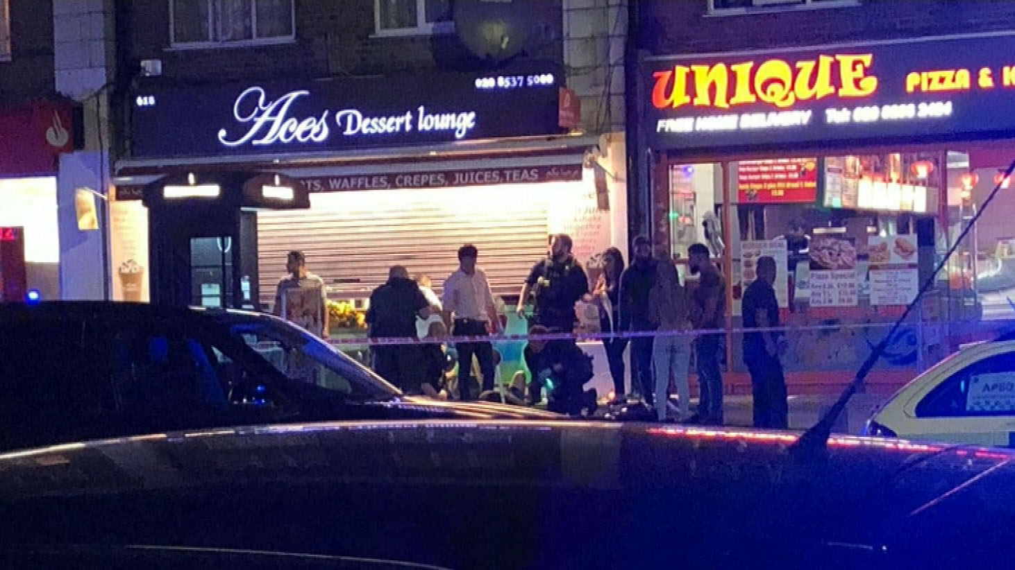 Three injured in London shooting