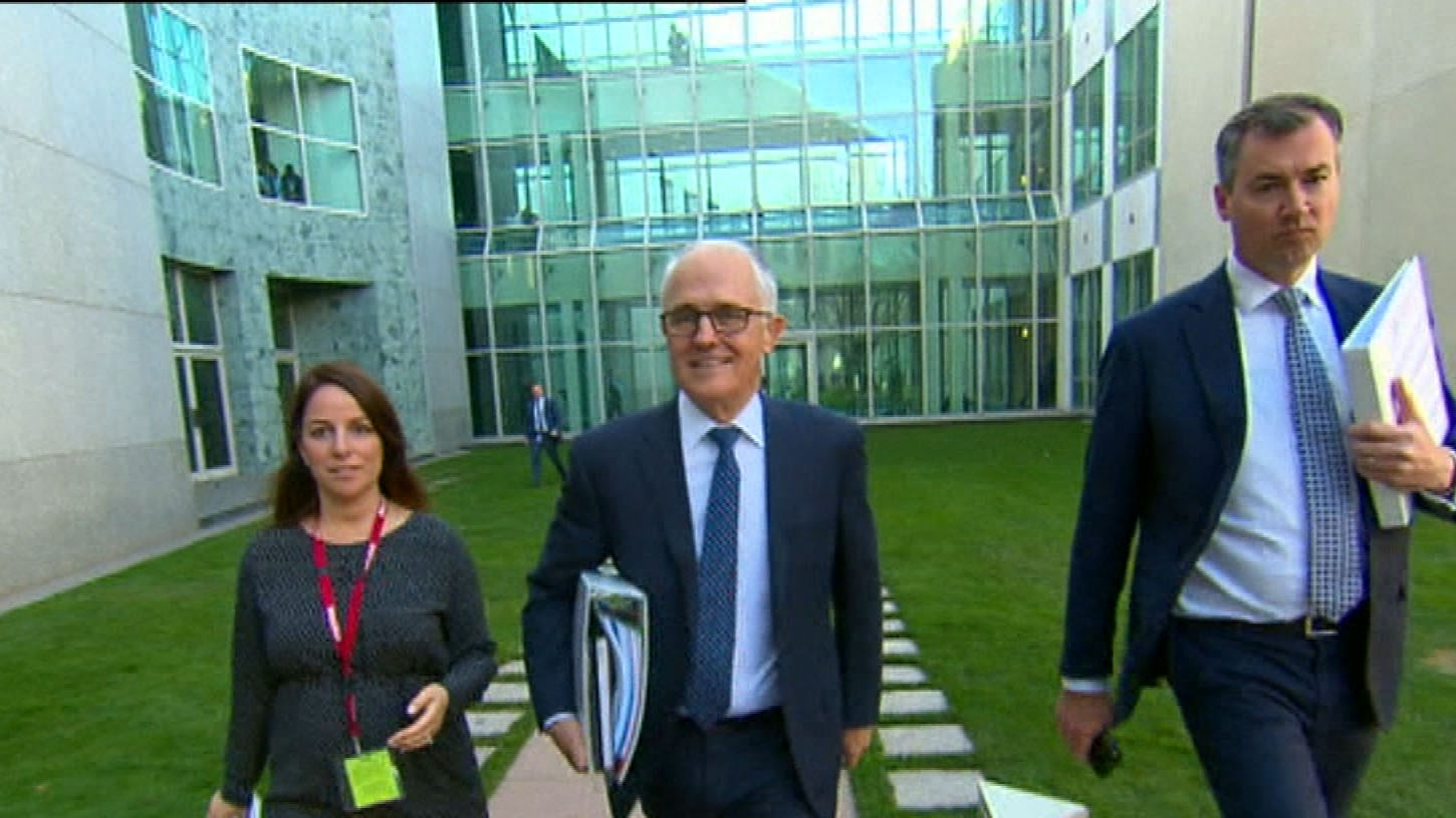 Malcom Turnbull maintains leadership