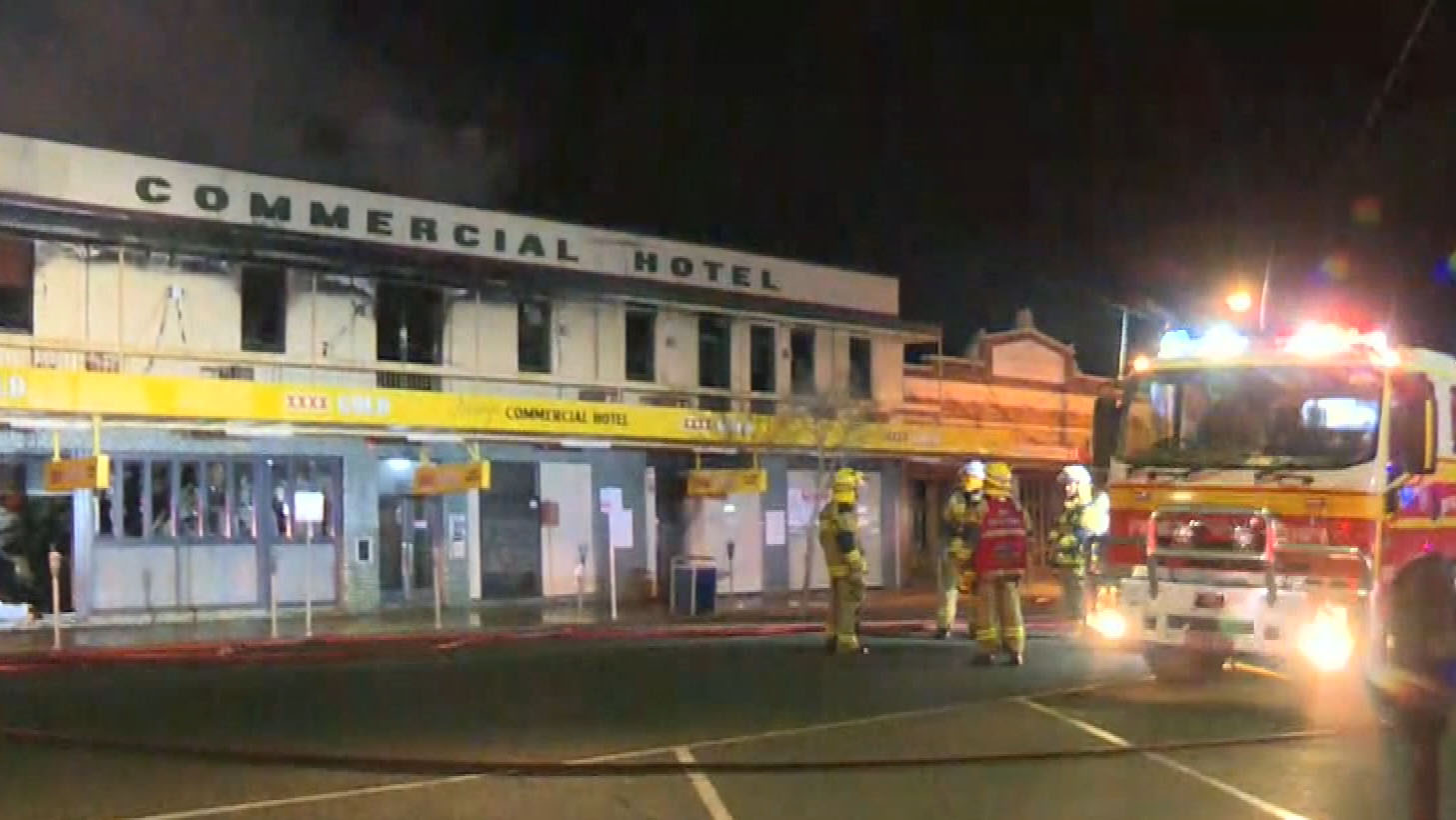 Iconic regional Queensland pub goes up in flames