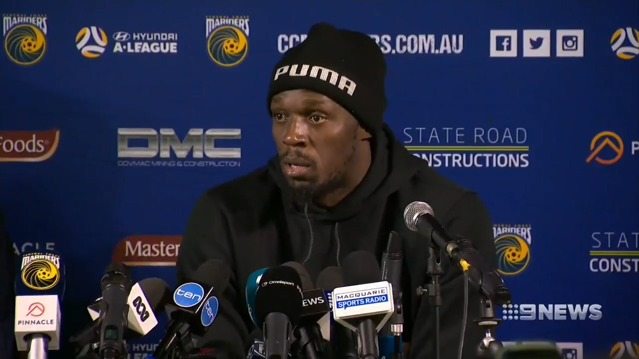 Bolt not a 'distraction' says Mariners coach