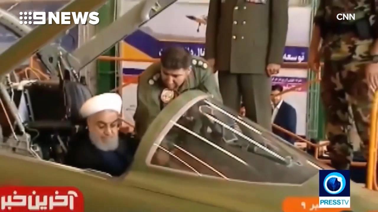 Iran unveils new fighter jets