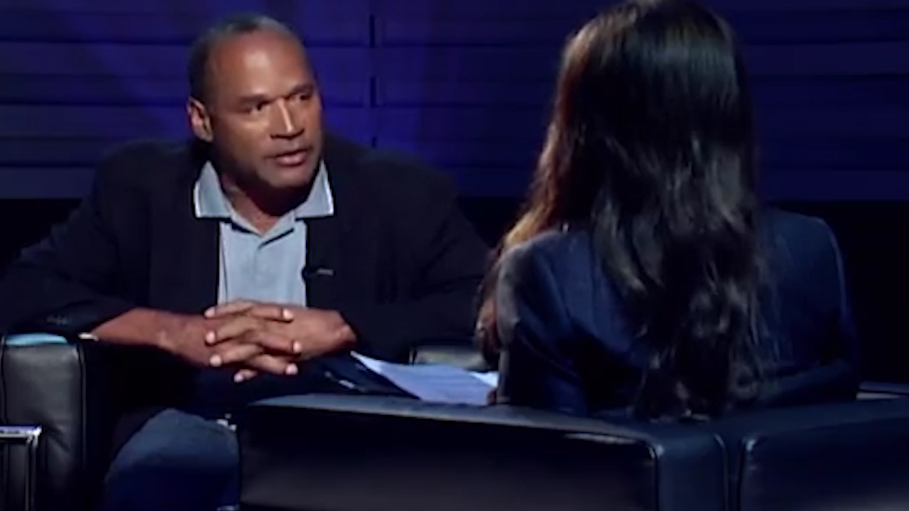 OJ Simpson discusses his wife's murder in newly unearthed interview