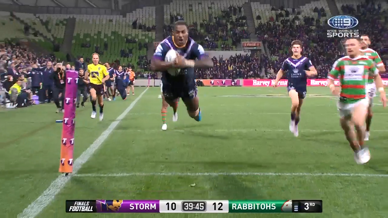 Croft pulls off 'miraculous' try