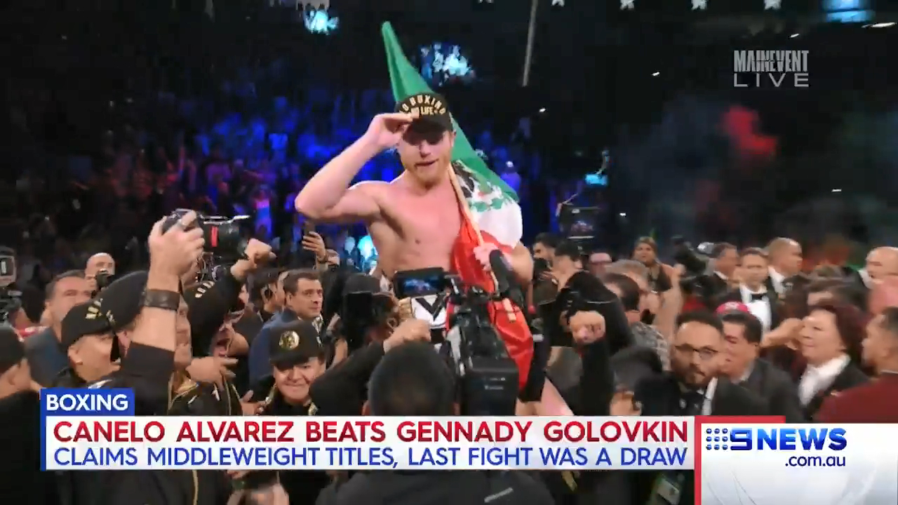 Canelo wins GGG rematch