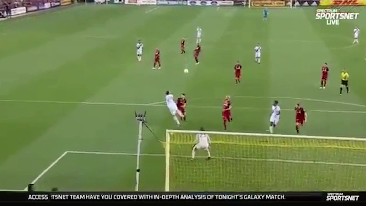 Zlatan scores screamer in MLS
