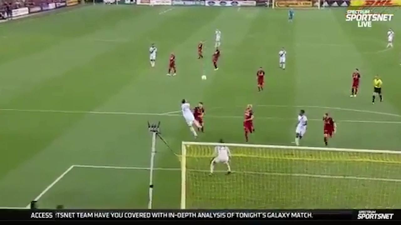 Zlatan scores screamer in MLS
