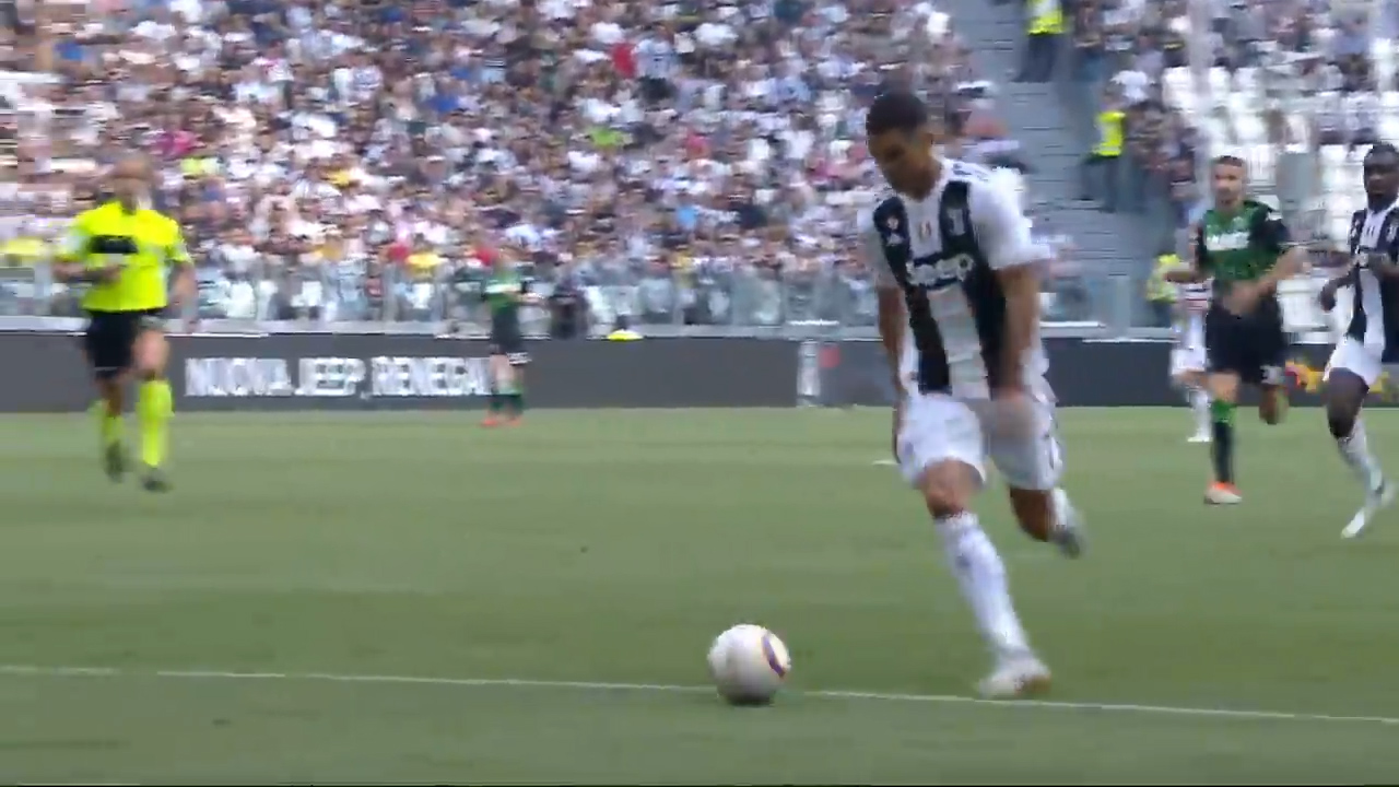 Ronaldo finally scores first goals for Juventus