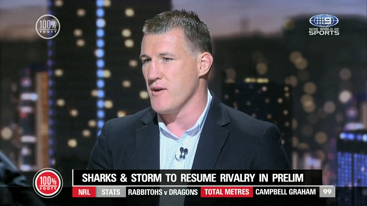 100% FOOTY: Gallen says Storm don't like physicality